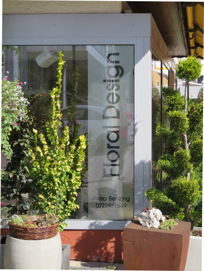 Schaufenster Floral Design1